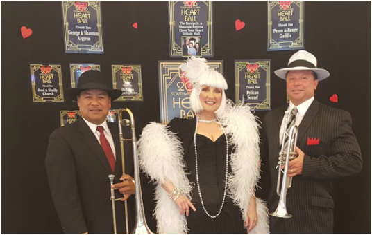 Speakeasy band Orlando, Z street Speakeasy Band, Gatsby Band Orlando, Roaring Twenties Band Orlando