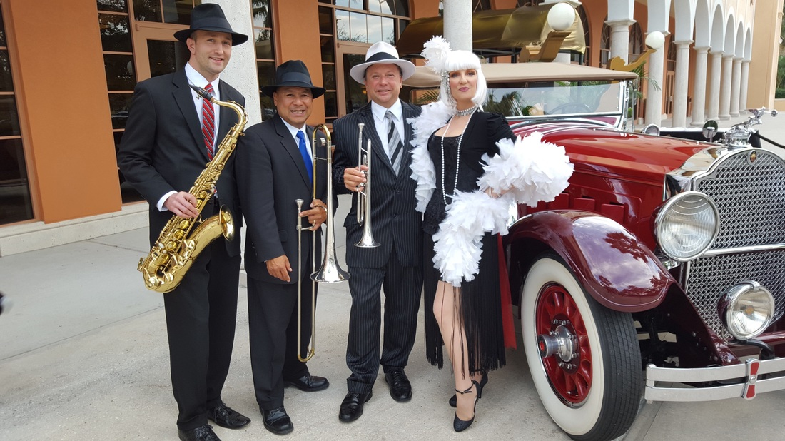 Gatsby Band Orlando, Z street Speakeasy Band, Swing Band Orlando, Speakeasy band Orlando,
