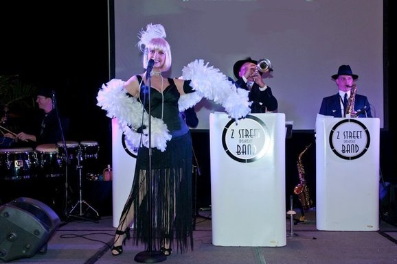 Cororate Event Entertainment Orlando, Z Street Speakeasy Band, Theme Party Entertainment Orlando
