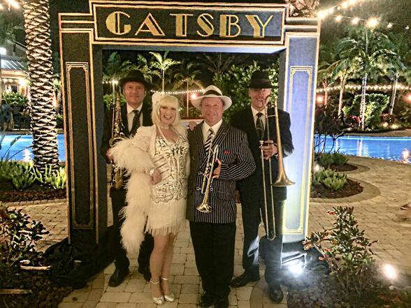 Gatsby Band Orlando, Tampa, Sarasota, 20s Band Speakeasy Band