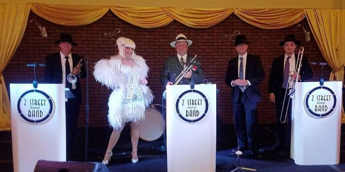 Gatsby Band Palm Beach, Miami, Fort Lauderdale, Boca Raton,  Gatsby entertainment, Z Street Speakeasy Band