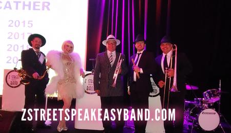 Z Street Speakeasy Band, Gatsby Band, 20s Band, 20s Band Orlando, 20s Band Tampa, 20s Band Sarasota, 20s Band Florida, 20s Band North Carolina, 20s Band South Carolina, 20s Band Alabama