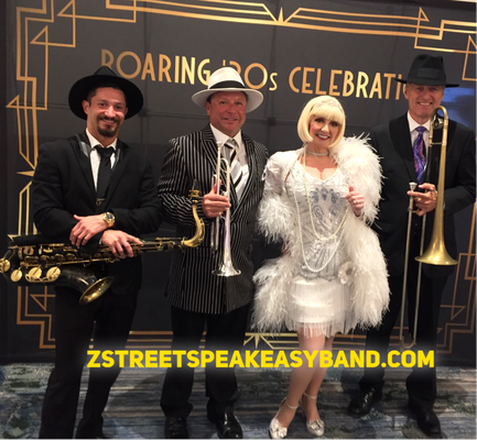 Z Street Speakeasy Band, Gatsby Band, 20s Band, 20s Band Orlando, 20s Band St. Petersburg, 20s Band Ybor City, 20s Band Winter Park, 20s Band Florida, 20s Band Palm Beach, 20s Band West Palm Beach, 20s Band Miami